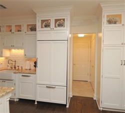 White-painted Hamptons-style